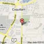 Coquitlam Office Map