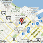 Vancouver Office Map